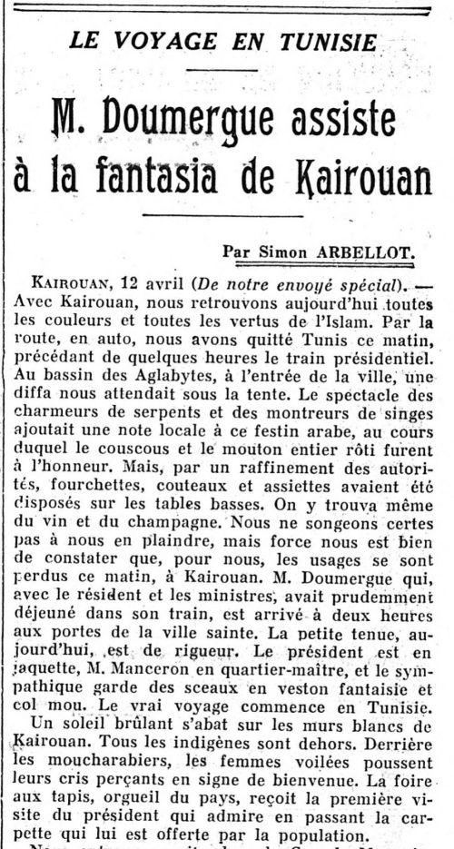 Le Figaro 13-04-1931 Source: Gallica.bnf.fr